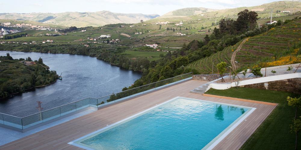 Vista do Hotel Delfim Douro Hotel